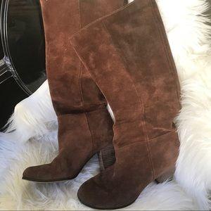 Cole Haan suede boots